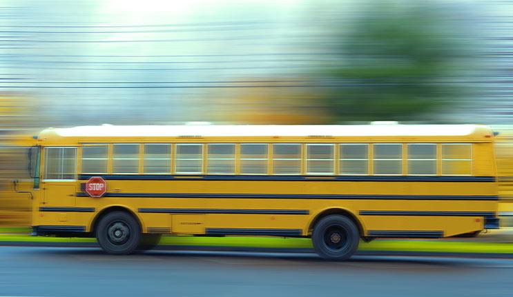 School Bus Drivers Receiving Tickets
