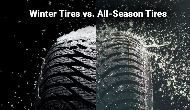 Winter vs. All-Season Tires: The Difference is Real