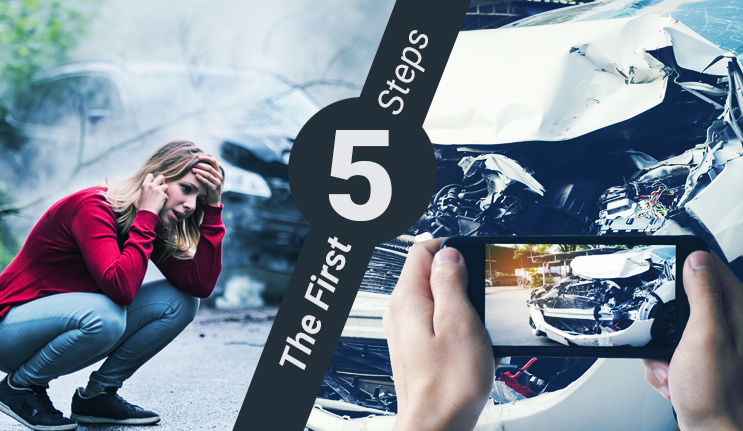 5 Steps You Should Take After a Vehicle Accident
