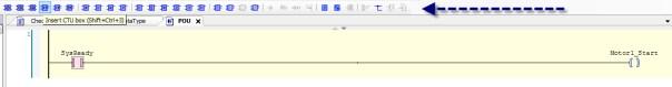 PLC programming environment tools