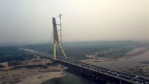 Signature Bridge In Delhi Opened: Delhi Signature Bridge ...