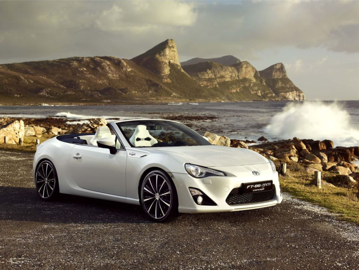 Toyota FT-86 Open Concept GT-86 Cabriolet 6