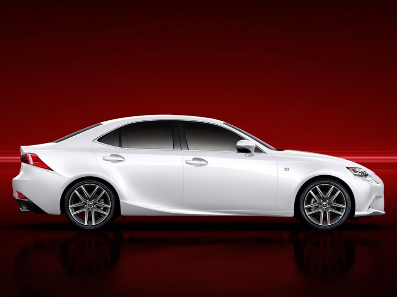 Lexus IS300h Hybrid F-Sport 2013 2014 02