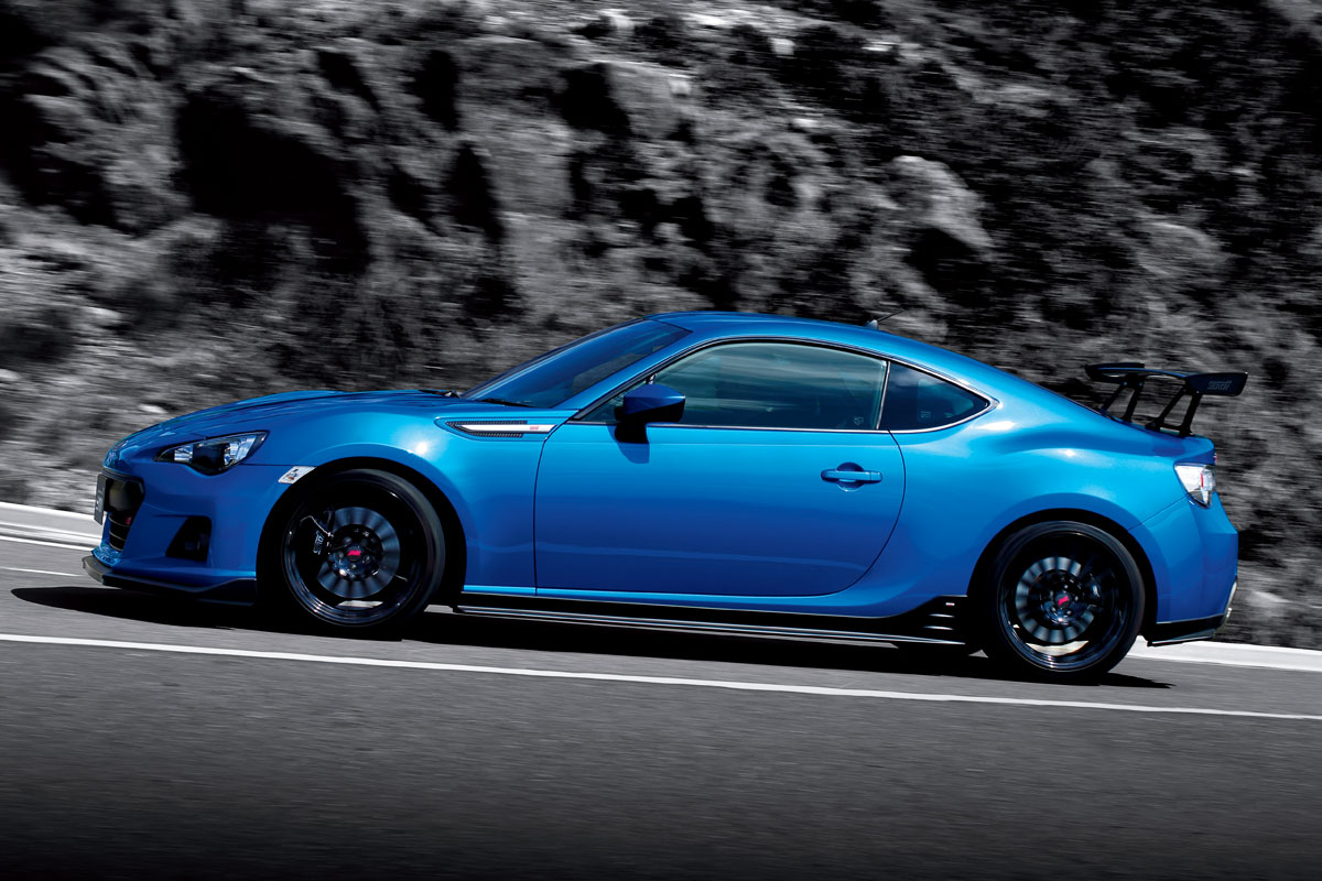 Subaru BRZ tS tuned by Sti 2014 06