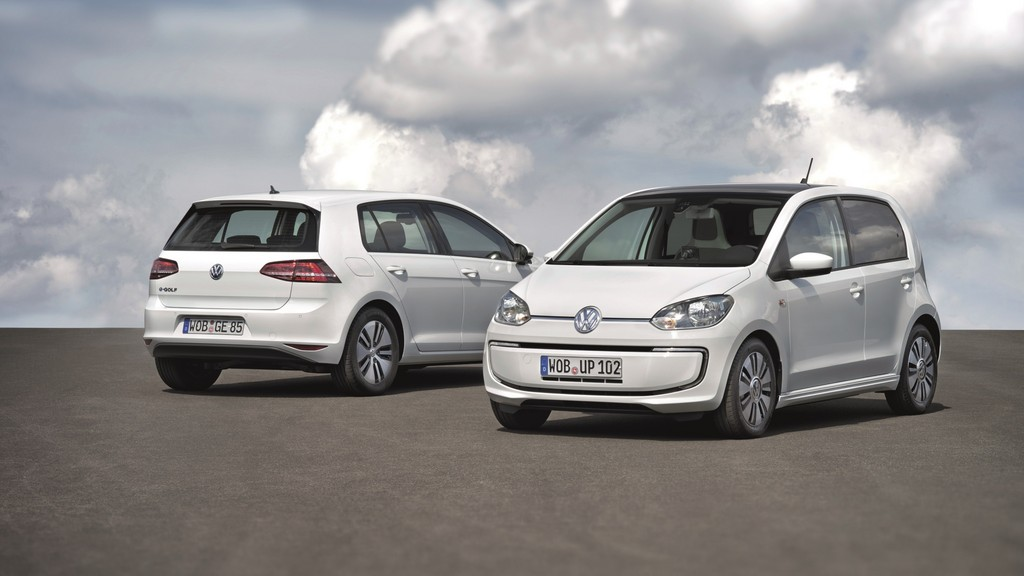 Volkswagen e-Up en e-Golf 2014 wit 05
