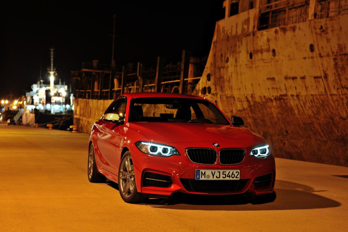 BMW 2-serie coupe M235i rood 2014 05