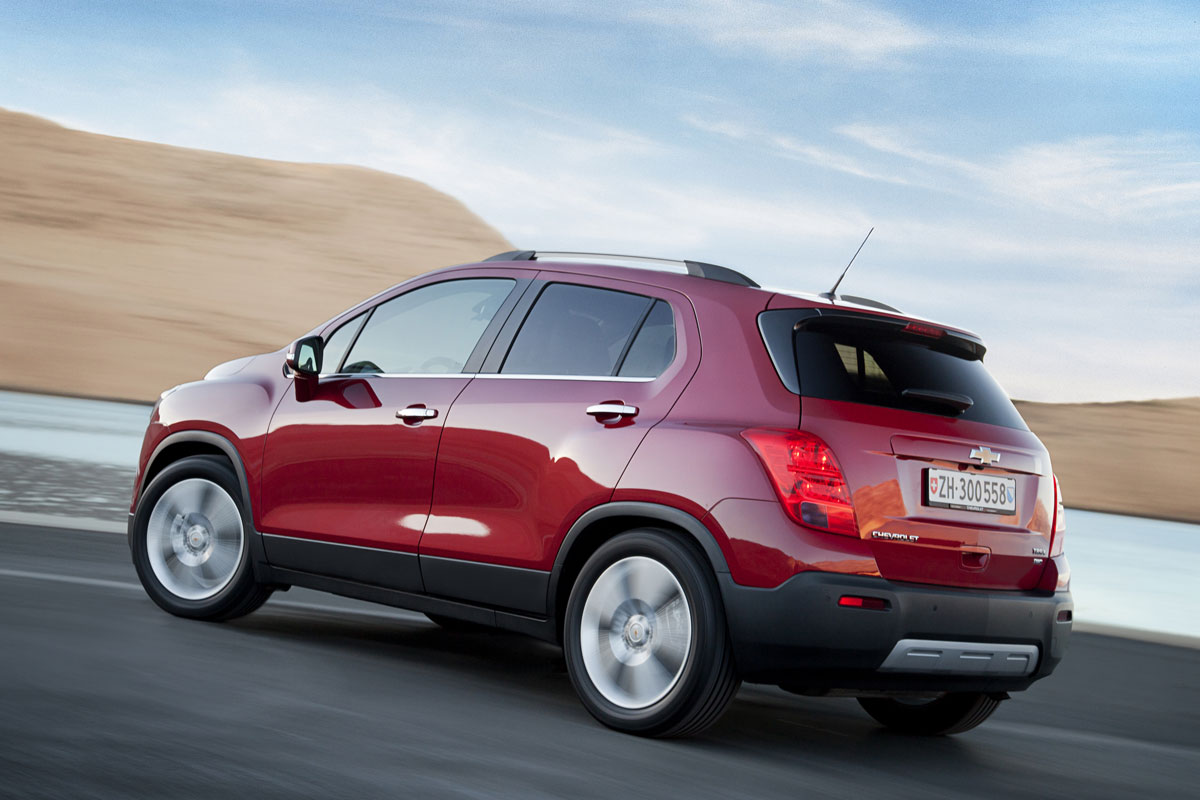 Chevrolet Trax FWD 1.4 Turbo rood 2014 06