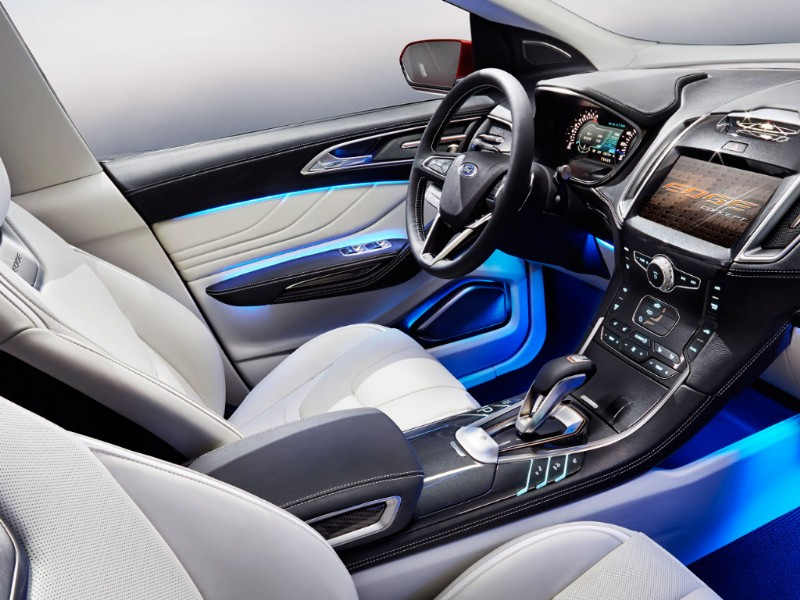 Ford Edge Europa Concept rood 2015 11