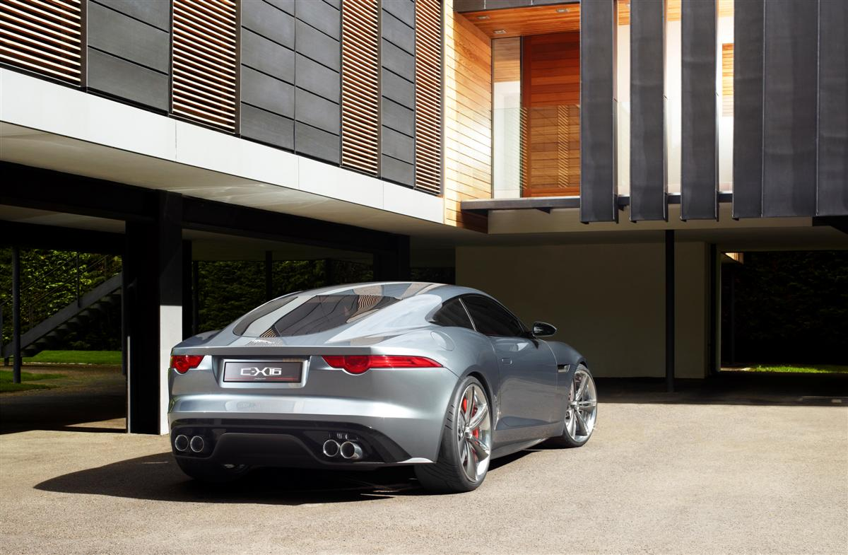 Jaguar C-X16 F-Type Coupe Concept 2011 03