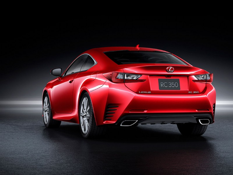 Lexus RC Radical Coupe rood 2015 02