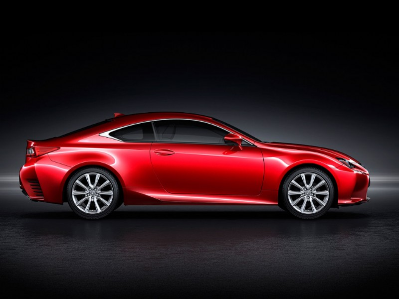 Lexus RC Radical Coupe rood 2015 11