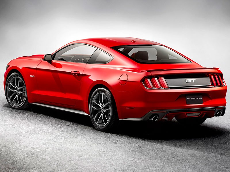 Ford Mustang Europa 2014 2015 rood 16