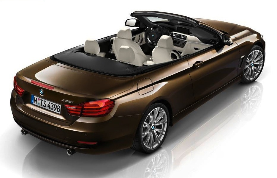 BMW 4-serie coupe cabriolet F32 F33 bruin individual 2014 01