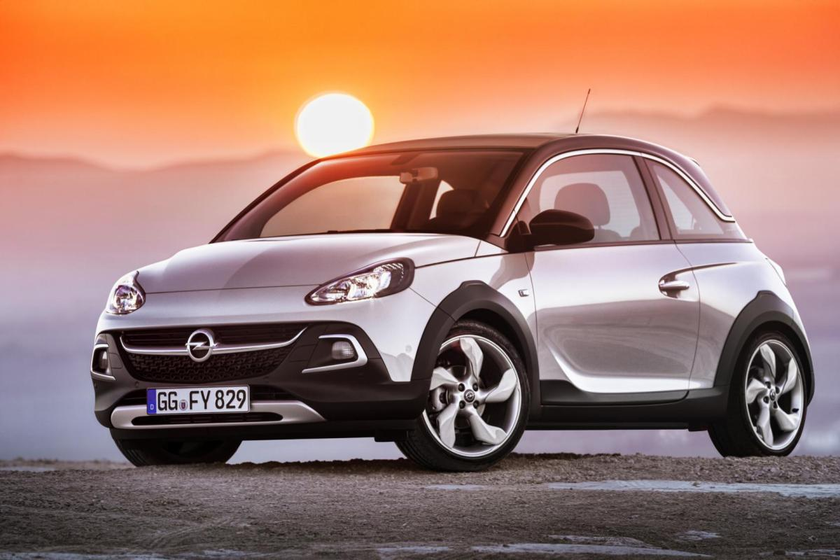Opel Adam Rocks wit geel 2015 EDIT 1.0 Turbo 10