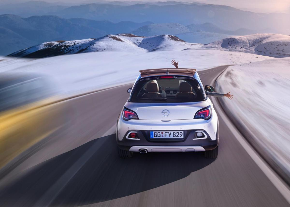Opel Adam Rocks wit geel 2015 EDIT 1.0 Turbo 12