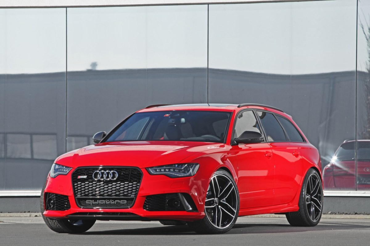 Audi RS6 Quattro GmbH HPerformance rood 2014 01