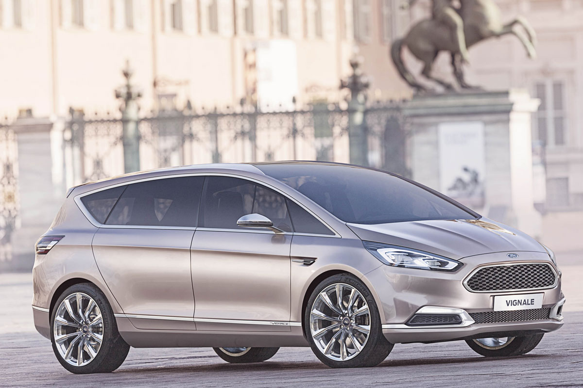 Ford S-Max Concept Vignale Luxe brons 2014 05
