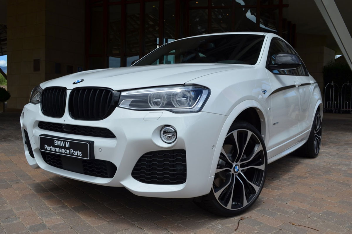 BMW X4 x-Drive M-Performance X20d X35d wit 2015 01