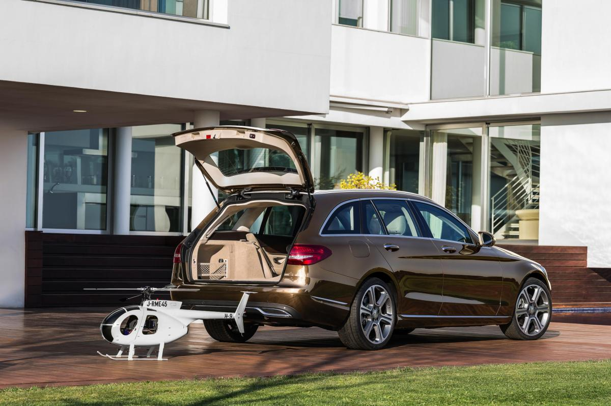 Mercedes C-klasse Estate S205 4-Matic BlueTec 2015 26