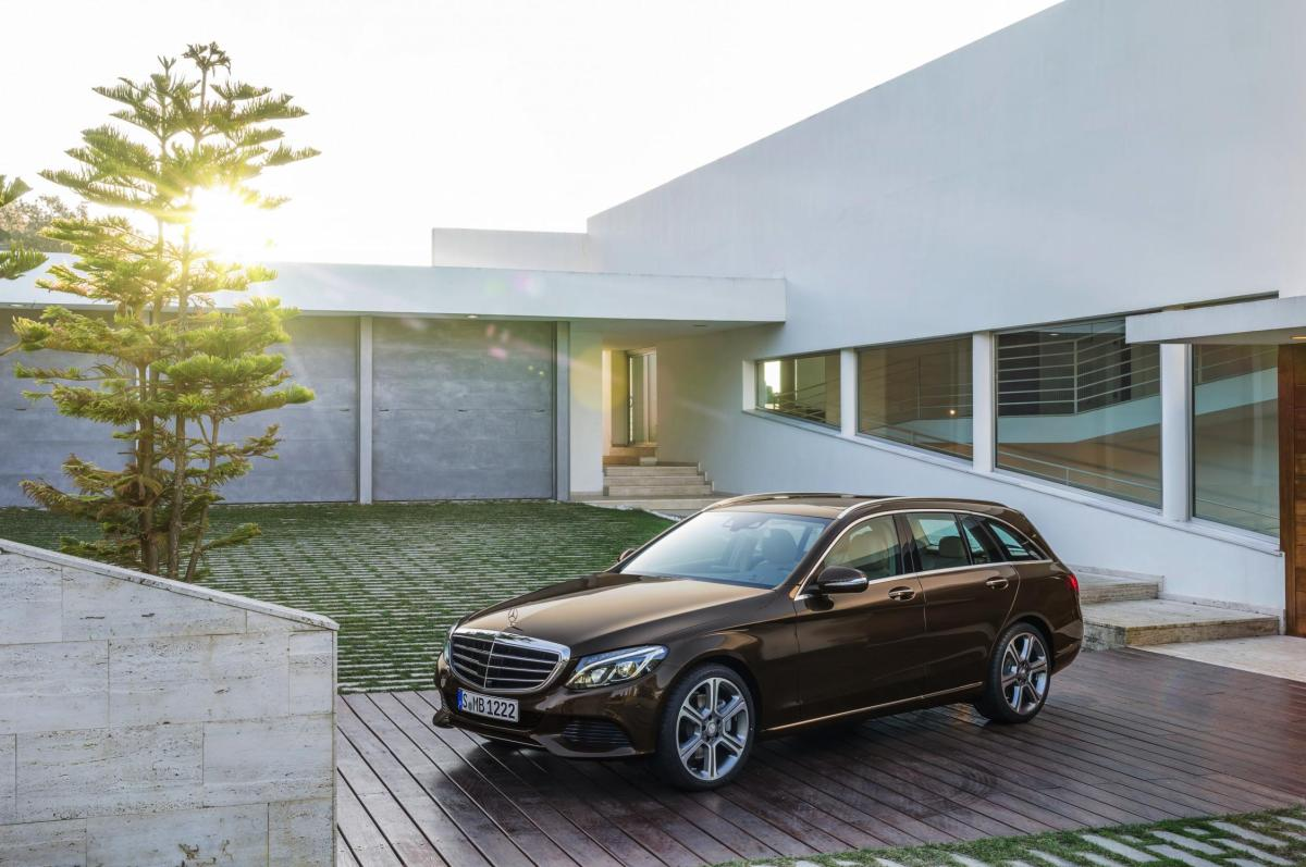 Mercedes C-klasse Estate S205 4-Matic BlueTec 2015 32