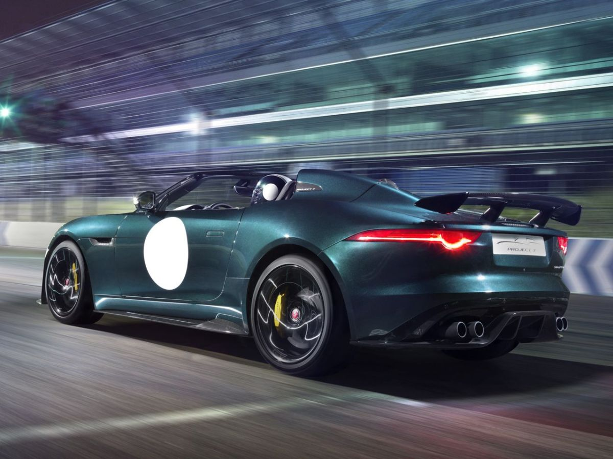 Jaguar F-Type Project 7 British Racing Green Le Mans 2015 12