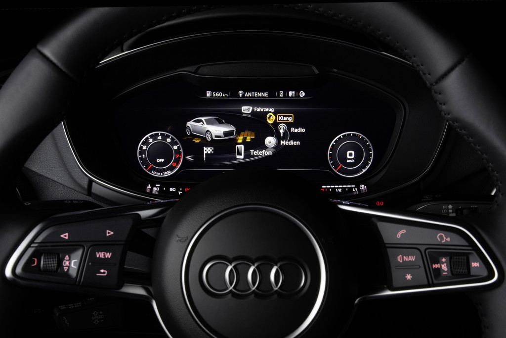 Audi TT Bang Olufsen Symphoria 5.1 surround MMI dashboard