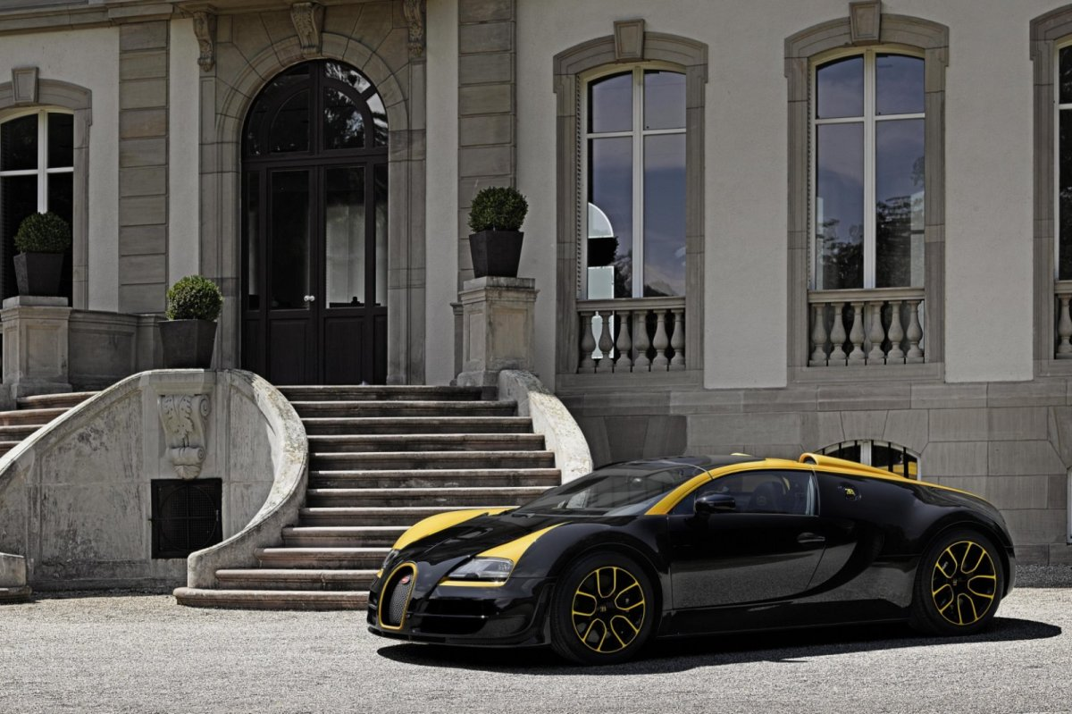 Bugatti Veyron Grand Sport Vitesse One of One 2014 geel Type 35 10