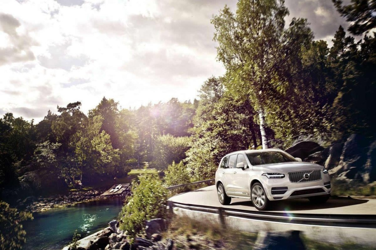 Volvo XC 90 First Edition D5 T6 AWD 1927 2015 brons zwart wit bruin 04