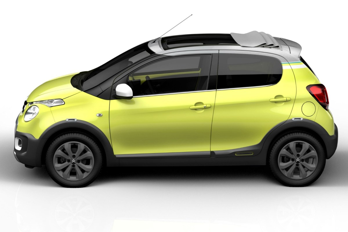 Citroen C1 Urban Ride Concept geel 2015 01