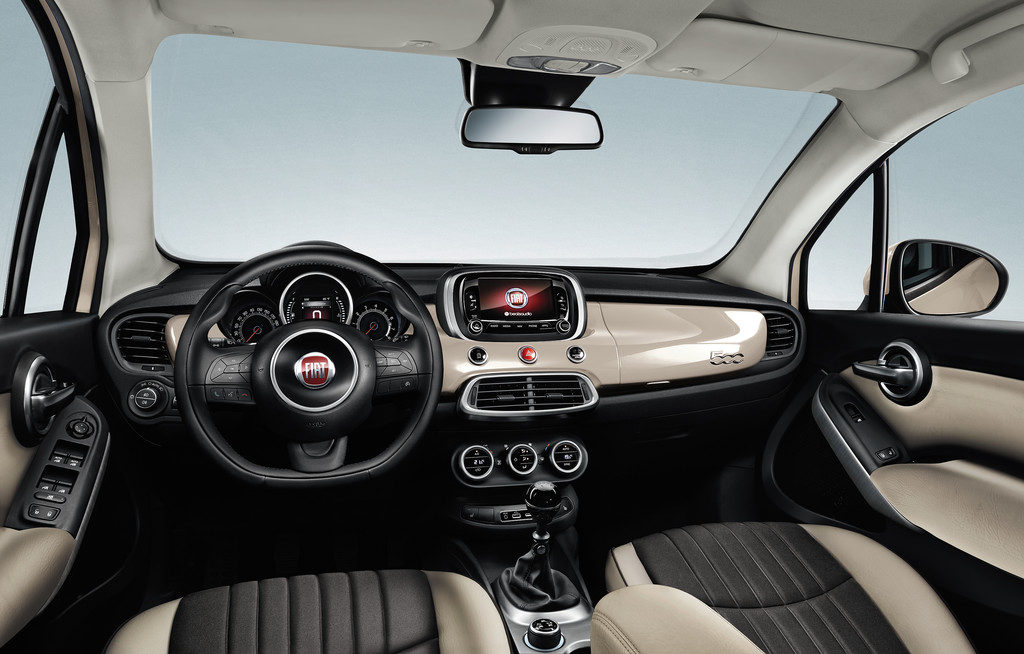 Fiat 500X Opening Edition creme wit 2015 02