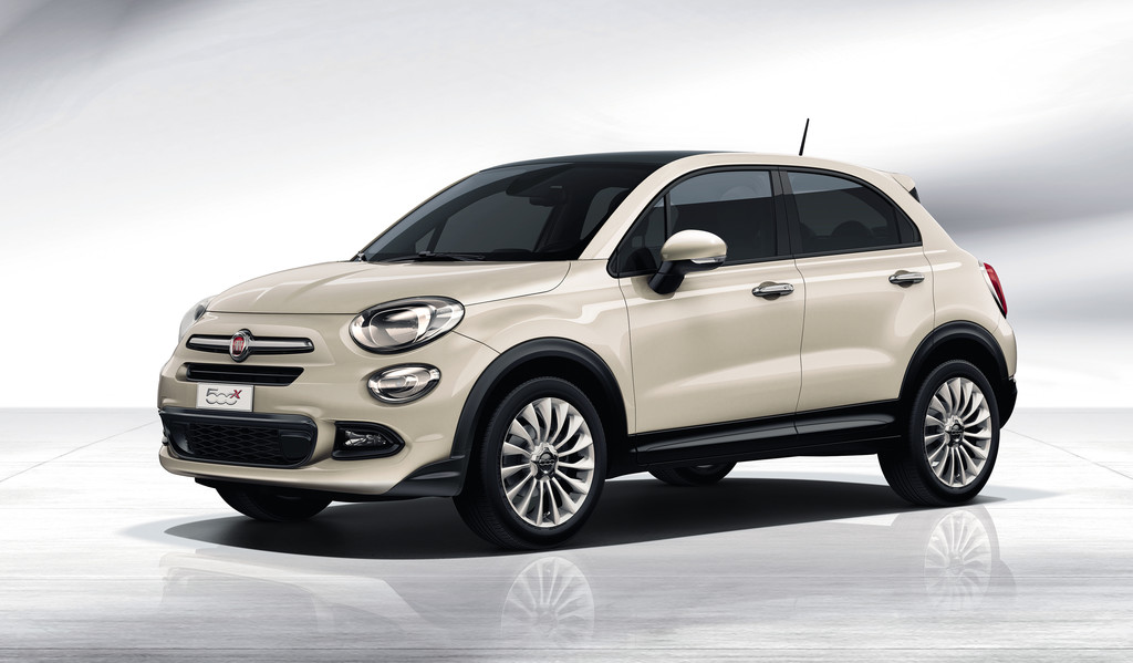Fiat 500X Opening Edition creme wit 2015 04