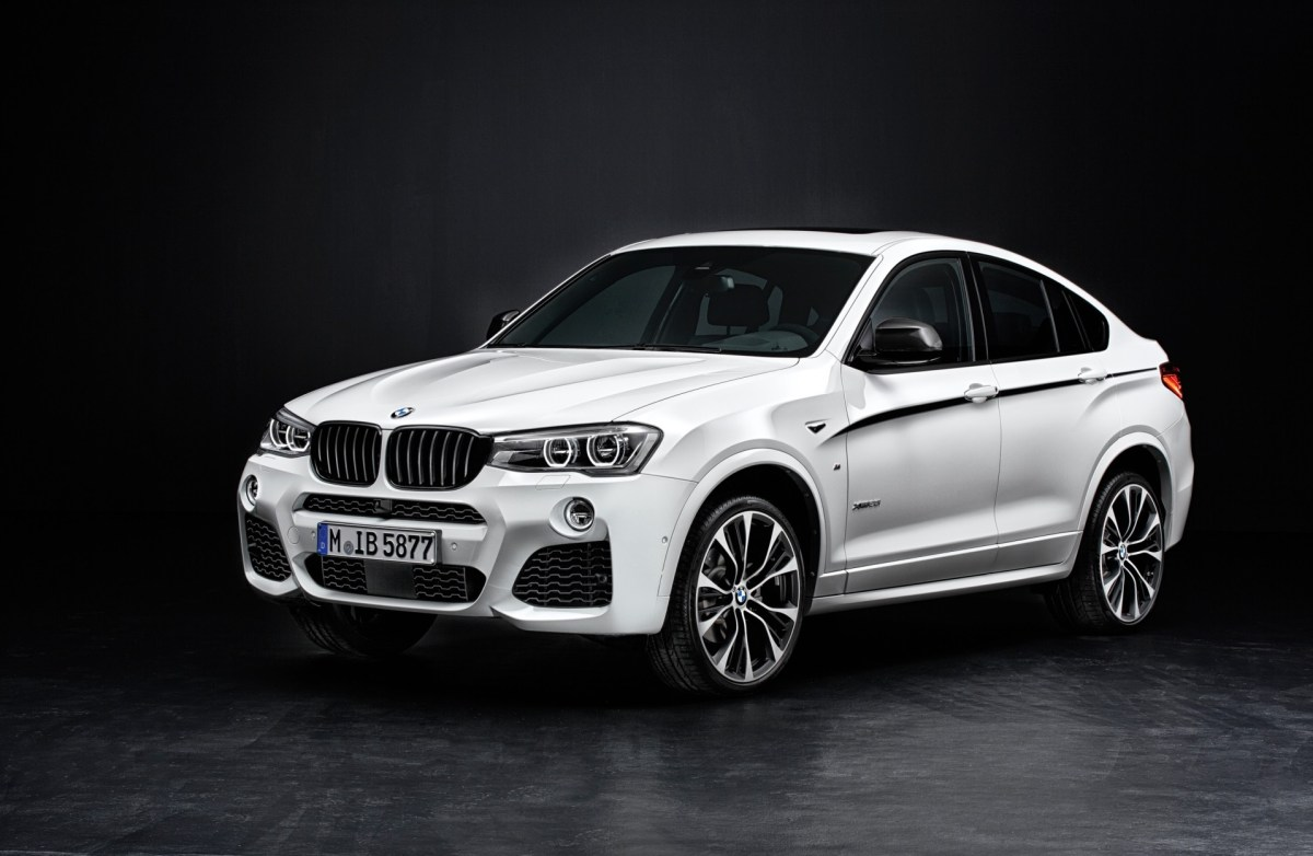 BMW X4 mit M Performance Parts