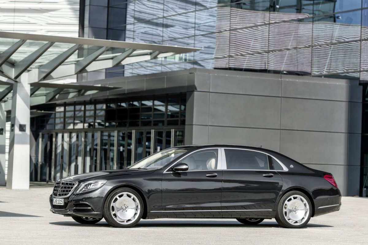 Mercedes Benz Maybach S-klasse S600 V12 Executive Business 06