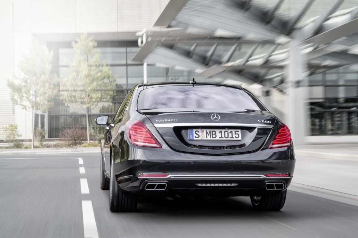 Mercedes Benz Maybach S-klasse S600 V12 Executive Business 08