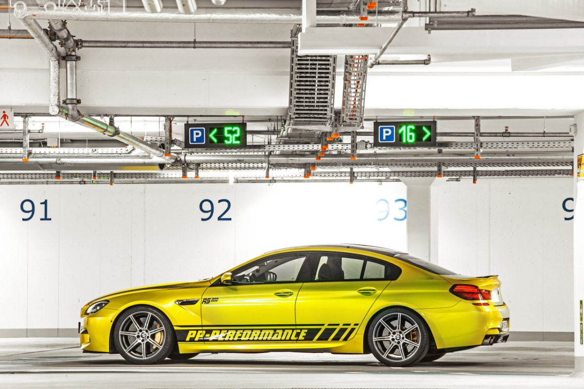PP-Performance BMW M6 Gran Coupe Electric Lime geel 2014 03
