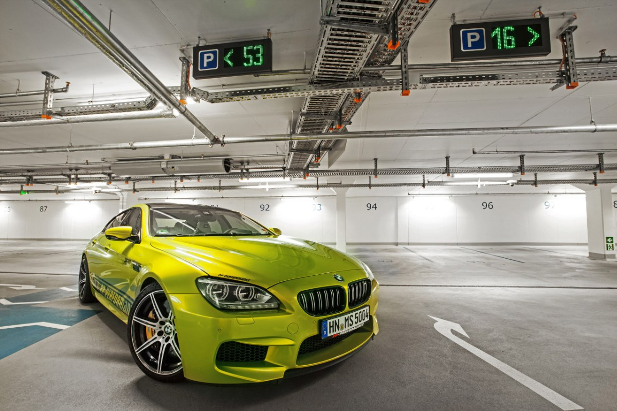 PP-Performance BMW M6 Gran Coupe Electric Lime geel 2014 08