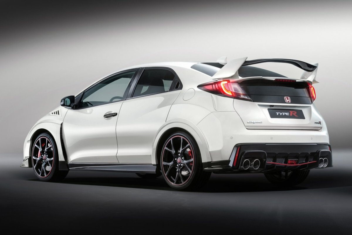 Honda Civic Type R wit ring record nordschleife voorwielaandrijving  2015 11