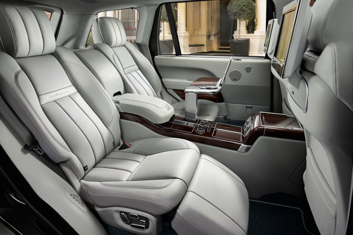 Land Range Rover SVAutobiography Special Vehicle Operations 2016 20