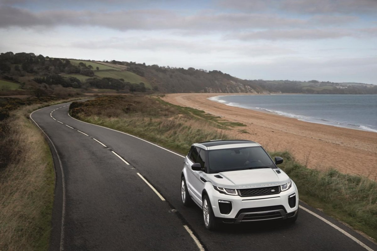 Land Rover Range Rover Evoque facelift wit 2016 01