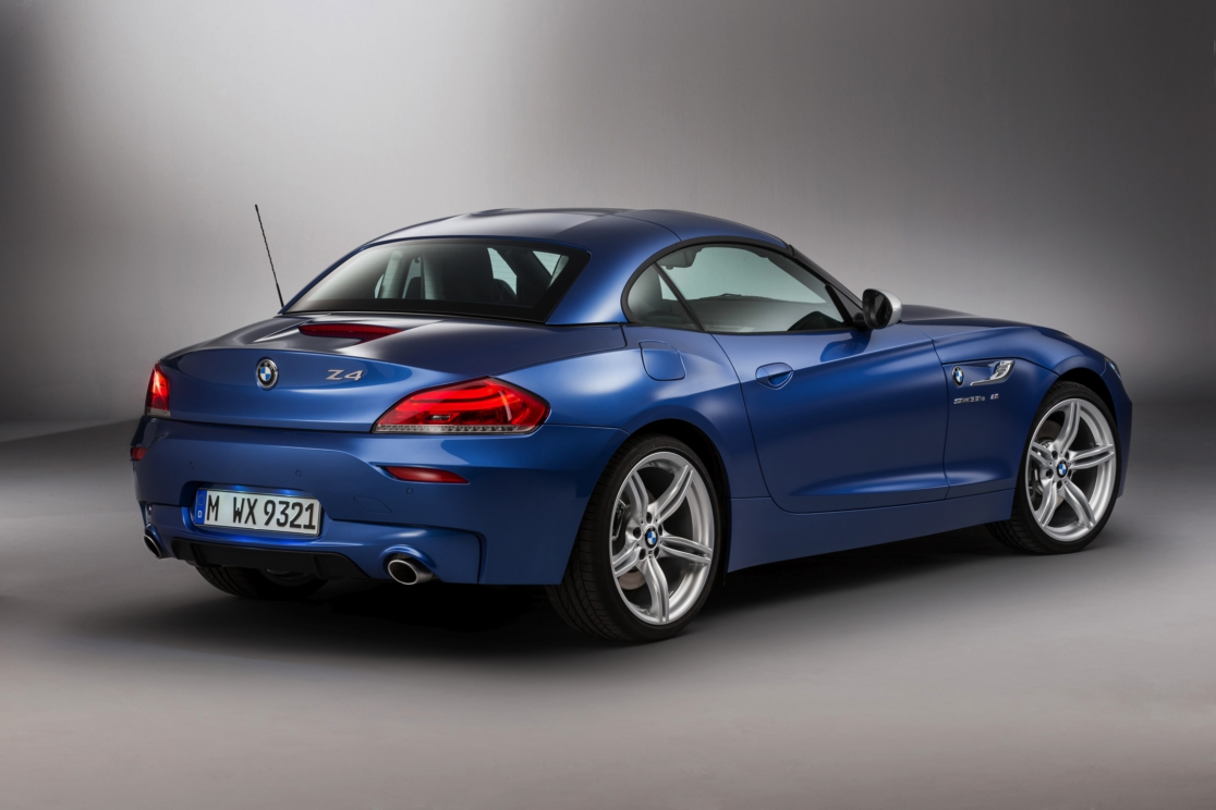 BMW Z4 Roadster Estoril blauw M-pakket 2016 02