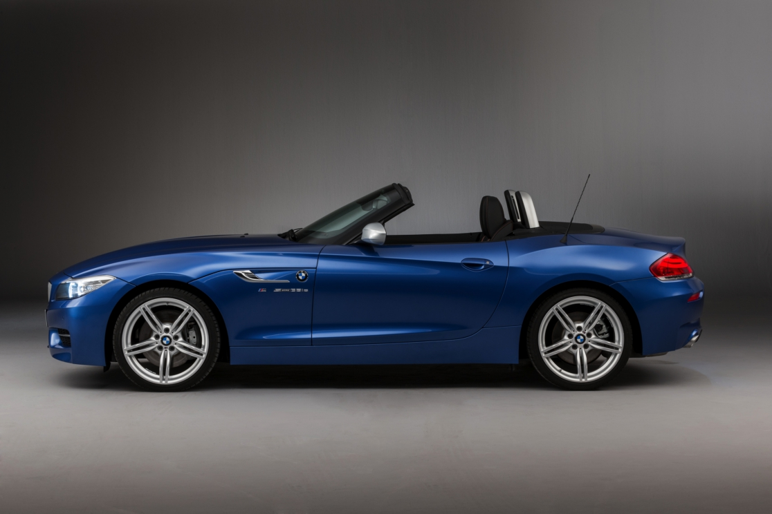BMW Z4 Roadster Estoril blauw M-pakket 2016 11