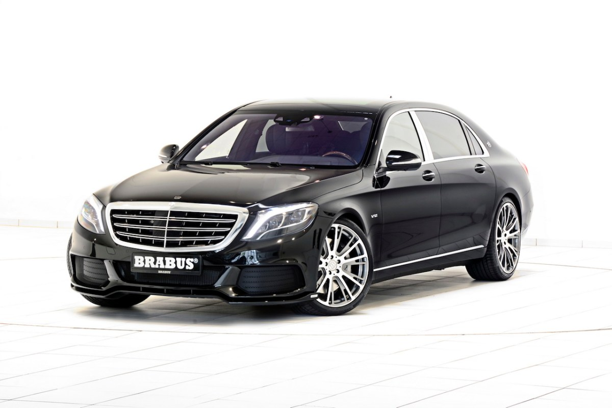 Mercedes S-klasse S600 Maybach Brabus Rocket V12 01