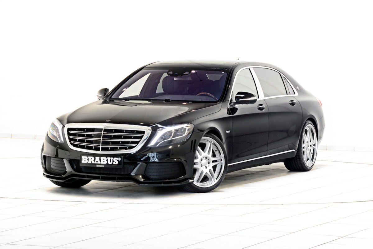Mercedes S-klasse S600 Maybach Brabus Rocket V12 05