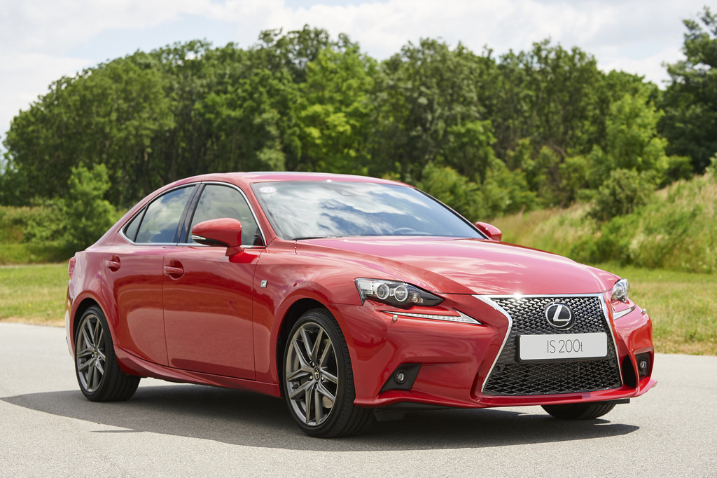 Lexus IS200T rood 2016 06