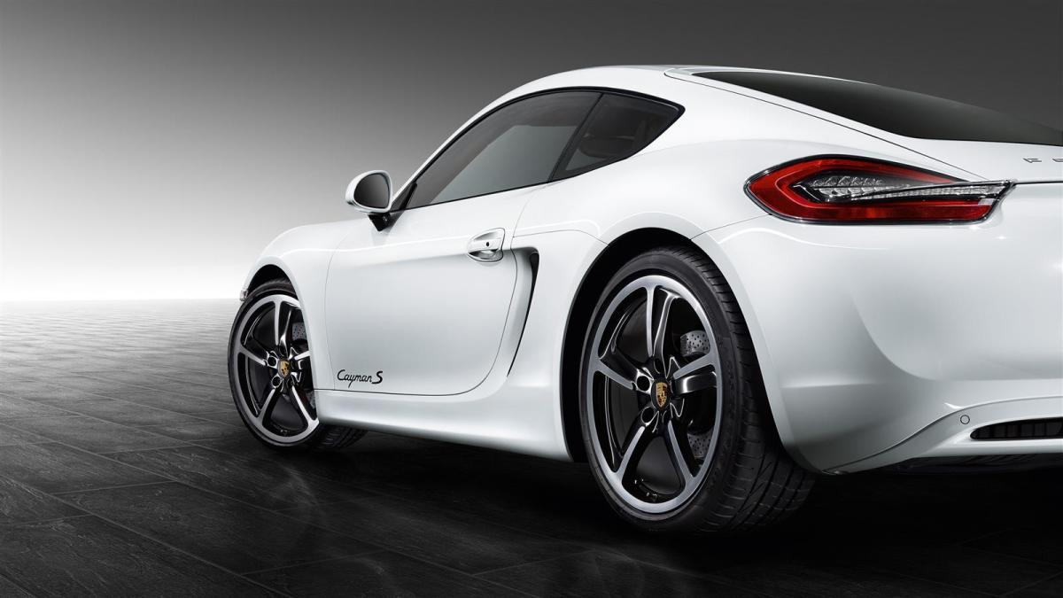 Porsche Exclusive Cayman S wit 2016 01