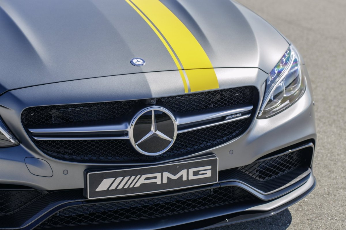 Mercedes C63 AMG Coupe Edition 1 2016 04
