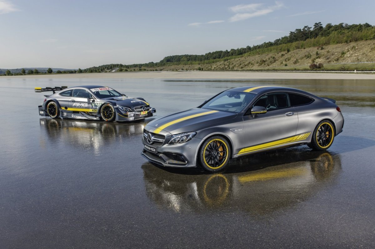 Mercedes C63 AMG Coupe Edition 1 2016 05
