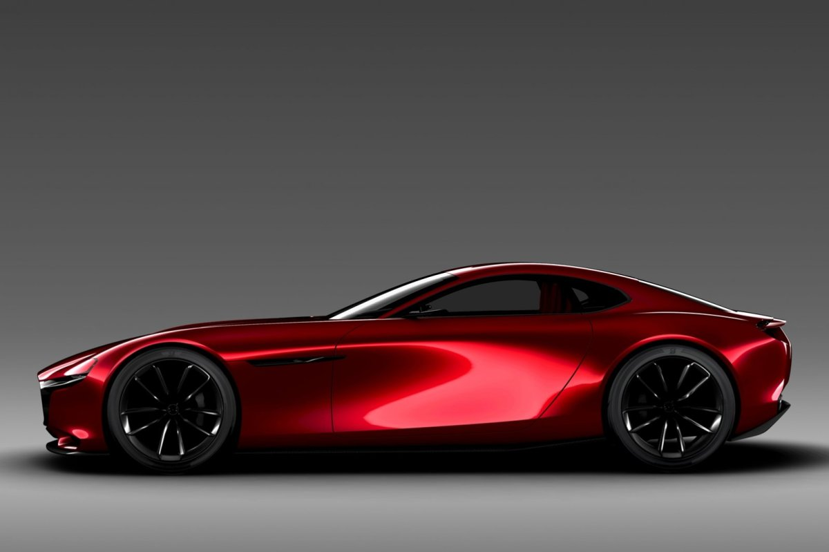 Mazda RX-Vision Wankelmotor Rood Concept Tokio 2015 08