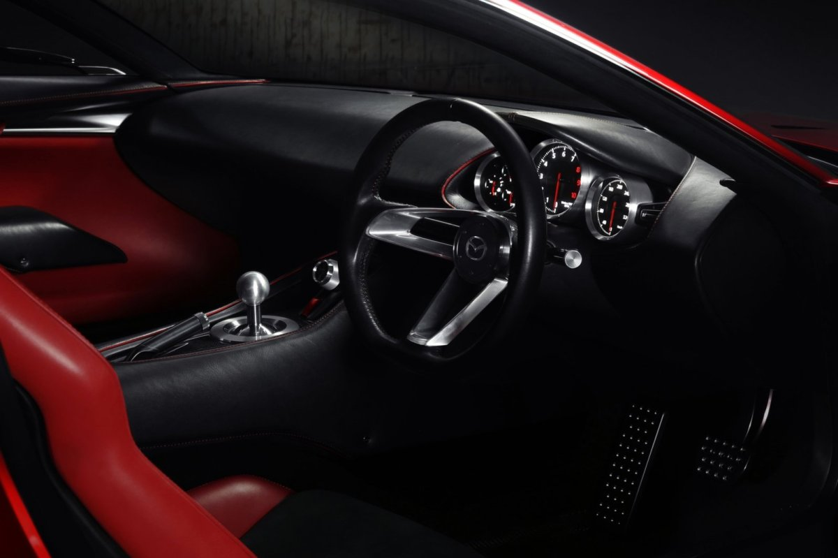 Mazda RX-Vision Wankelmotor Rood Concept Tokio 2015 12