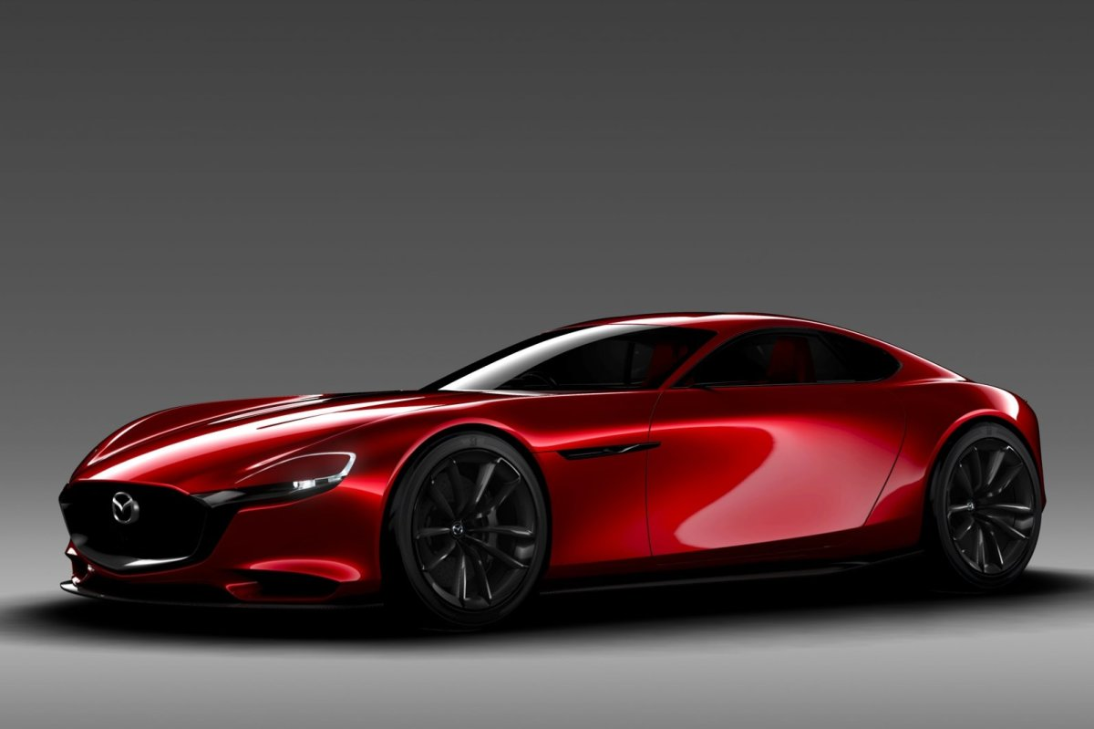 Mazda RX-Vision Wankelmotor Rood Concept Tokio 2015 13